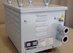 Transformateur 5kVA pour sous-marin