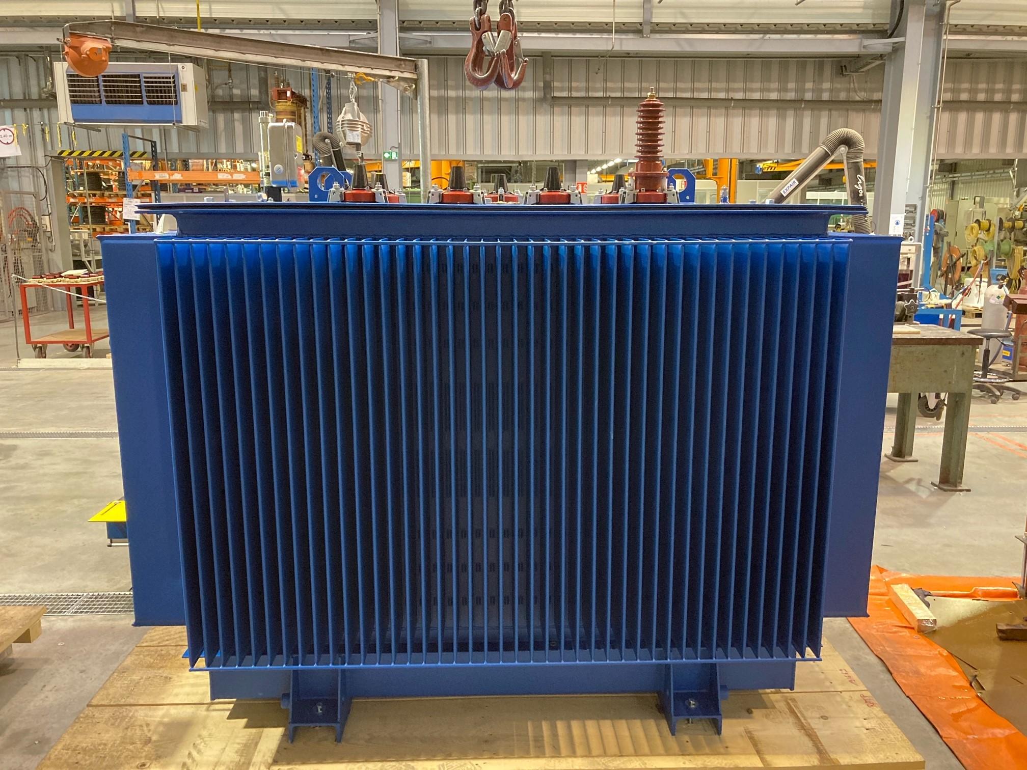 Transformateur 1320 kVA pour essais