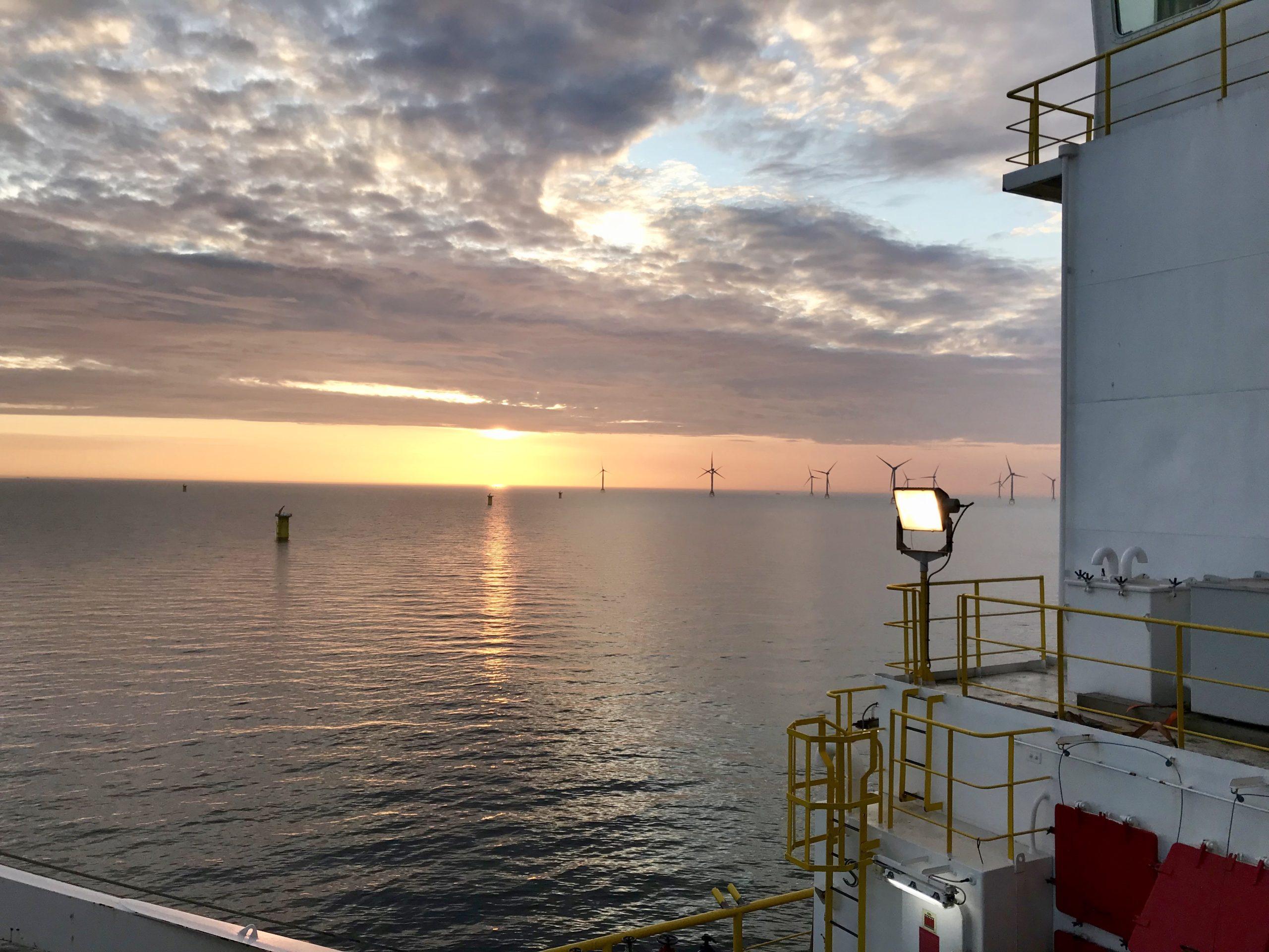 parc éolien offshore transformateur agcei